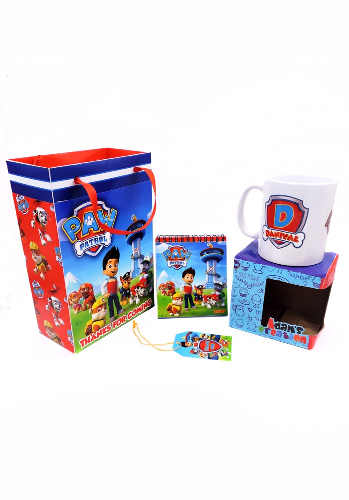 paw patrol theme return gifts combo