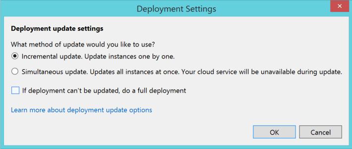 Deployment Settings