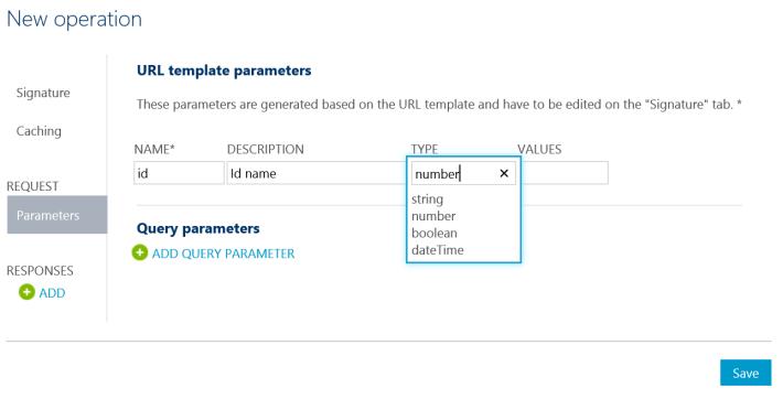 Api New Operation Request Parameters
