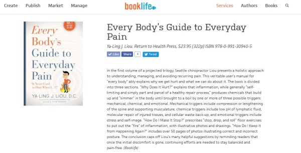 booklife review screenshot