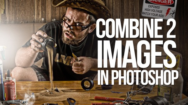 Free Tutorial - How To Combine Two Images In Photoshop