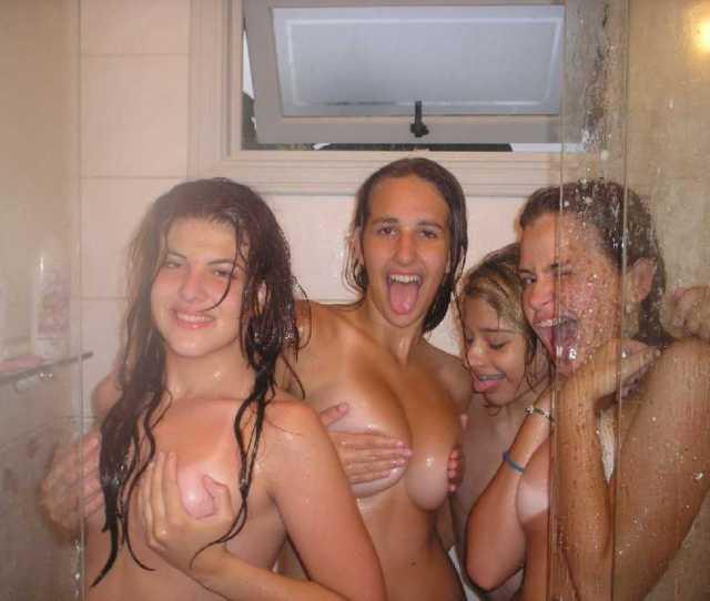 Naked Collegegirls In The Shower