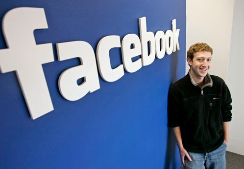 Mark Zuckerberg en Facebook