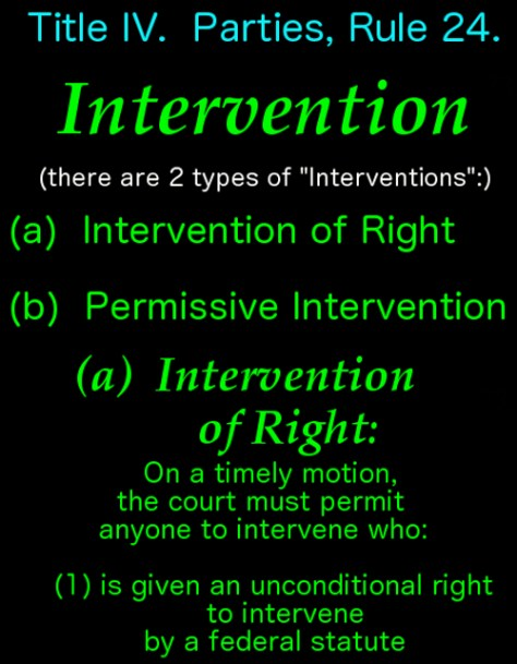 Intervention of Right for wbsite