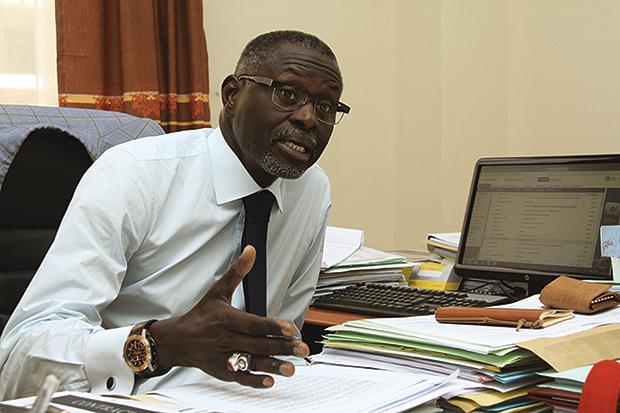 Mansour Cama, Président de la Grappe Elevage, Industries et Production animale
