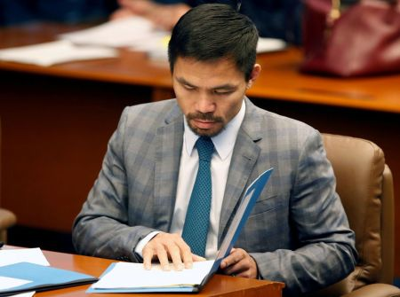 Boxing Star Manny Pacquiao Plans to Run for Philippine President in 2022 to Fight Government Corruption
