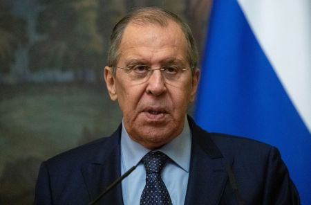 Russia's Foreign Minister Lavrov Says Taliban Recognition 'Not on the Table'
