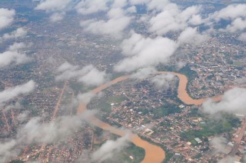 """Rio Branco means """"White River"""" - humm, hardly"""