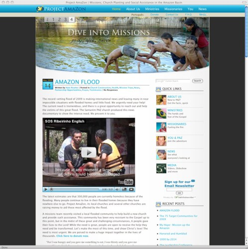 A screenshot of the PAZ website.  Forget this- go see it yourself!