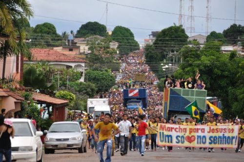 The Amazing March for Jesus in Santarém Approaches