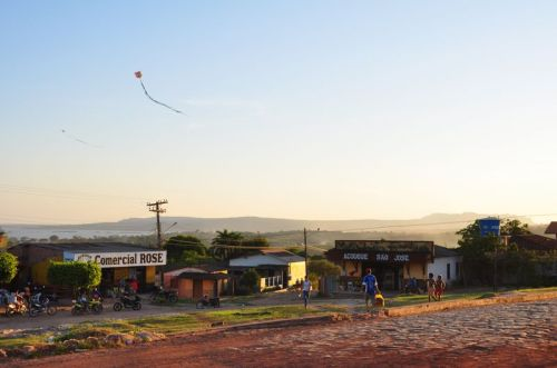 A familiar brazilian scene greets our eyes once back in Monte Alegre