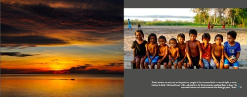 """A page from the photo-book """"PAZ Picture exPerience"""""""