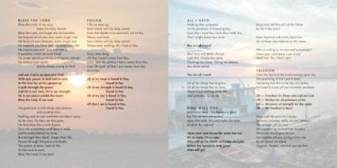 Excerpt from album artwork