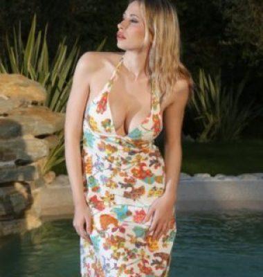 robe imprimée pain de sucre