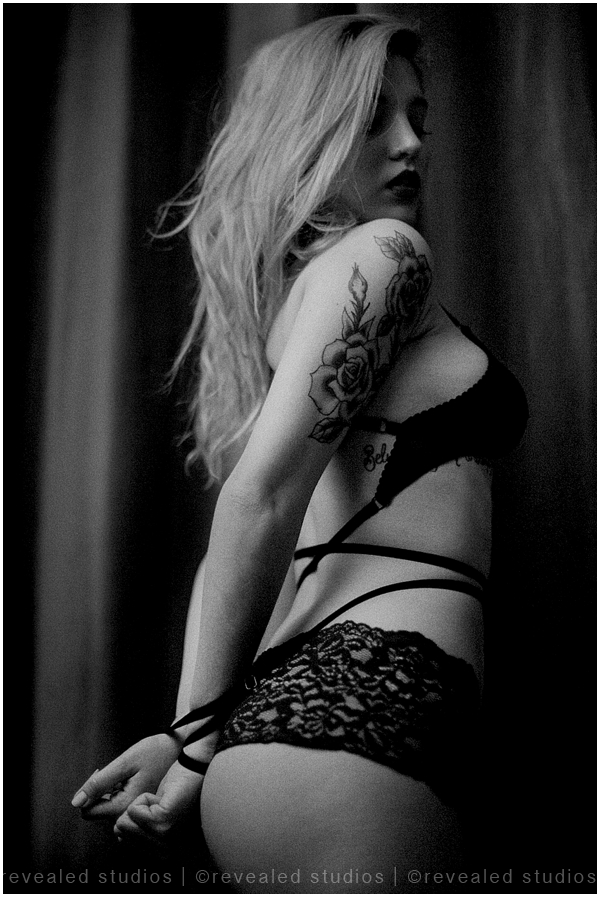 Dark And Moody Boudoir Photoshoot By Revealed Studios