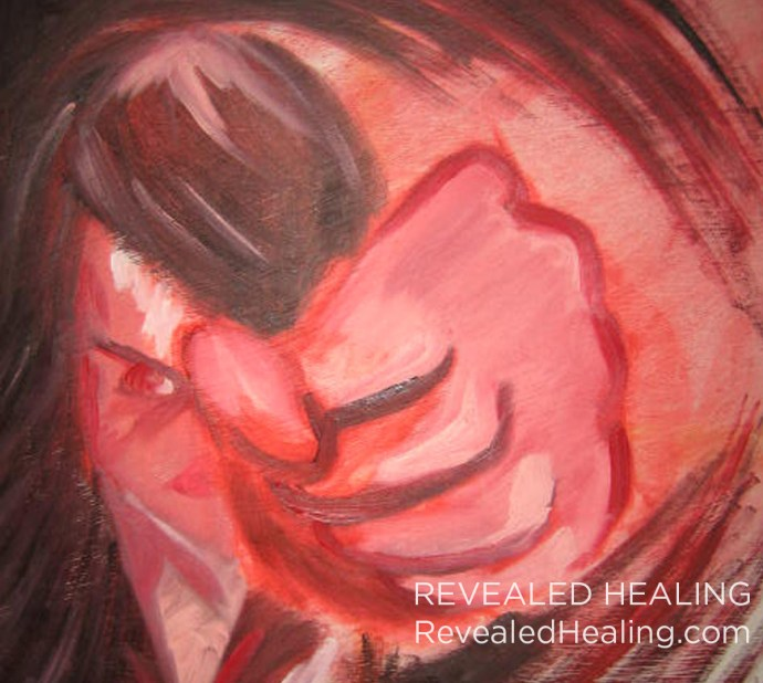 Fury Painting Cropped - Revealed Healing - Brandie Nicole Richardson