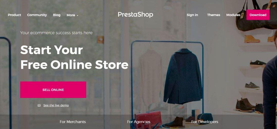 Prestashop- Open Source eCommerce Platform
