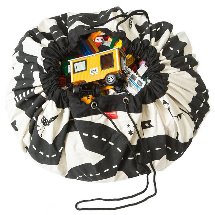 sac rangement tapis circuit eclair play and go