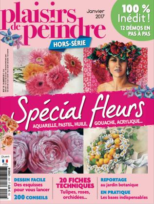 hors série PDP spécial fleurs sorti le 24/01/2017