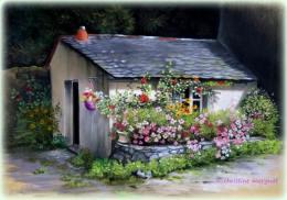 """""""chez Laurette"""" d'après une photo de Julie Milloux - DISPO"""