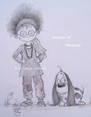 Janice et Marcus