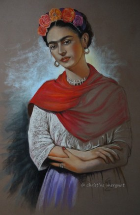 """Frida"" format 50 X 70 cm - DISPO"