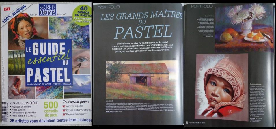 """""""le Guide essentiel du Pastel"""" mars/Juin 2018"""