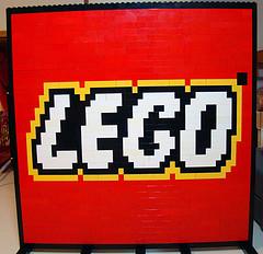 Lego Logo by David Pickett