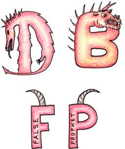 Dragon, beast, false prophet