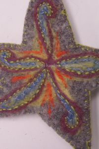 felted star 3