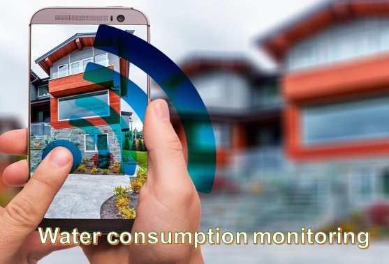 Water usage monitoring
