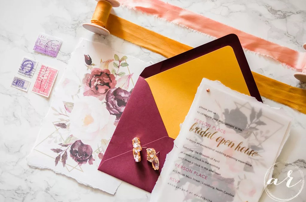 Stationery vs. Stationary. Everything you need to know about wedding invitations.