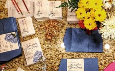 An inside look at the revelry + heart custom invitation process