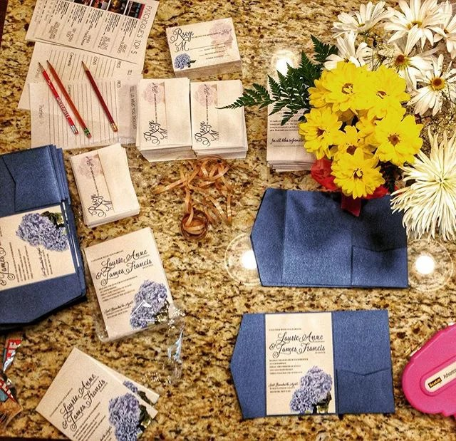 An inside look at the revelry + heart custom invitation process