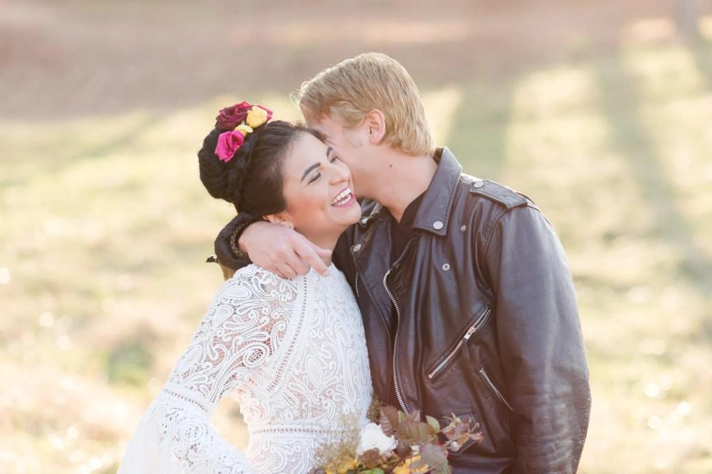 revolutionary couple wedding | Frida + Joe