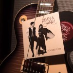 Custom Wedding invitation that mimics Fleetwood Mac Rumours album | revelry + heart