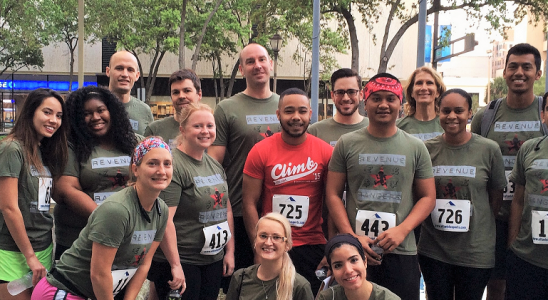 RMS sponsors 2015 Fight for Air Climb