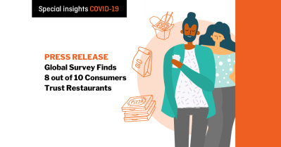 Revenue Management Solutions' Global Survey Finds 8 out of 10 Consumers Trust Restaurants