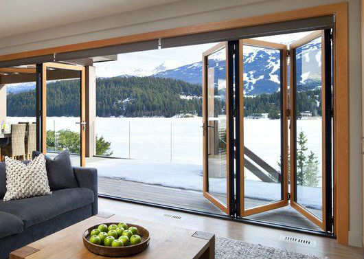 Puertas de aluminio para salida a la terraza revenval - Puerta balconera aluminio ...