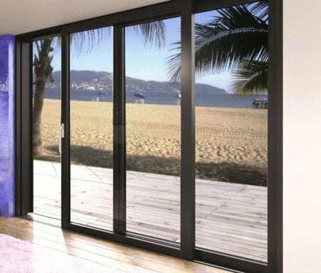 Puertas De Aluminio Para Salida A La Terraza Revenval