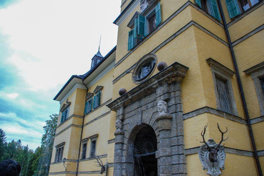 Schloss Hellbrunn in Salzburg, Austria.