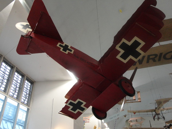Airplane at the Deutsches Museum