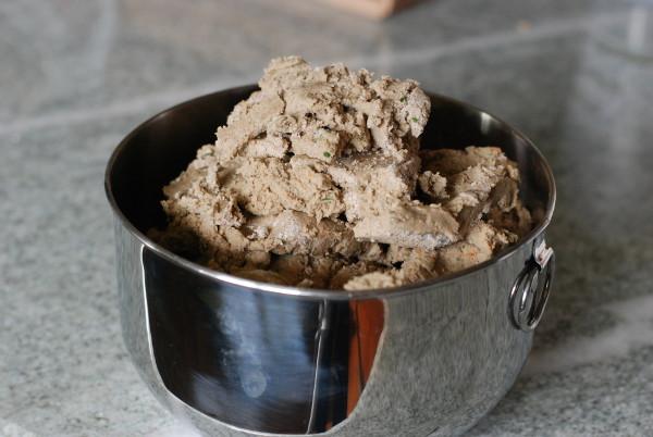 Buckwheat Tuna & Sweet Potato Dog Treats Dough