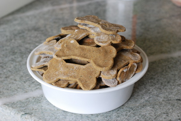 Buckwheat Tuna and Sweet Potato Dog Treats