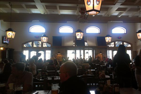 Inside Hofbräuhaus Pittsburgh