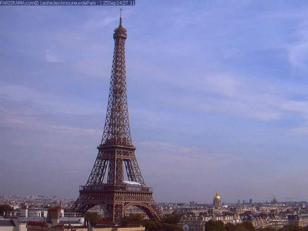 paris eiffel tower webcam