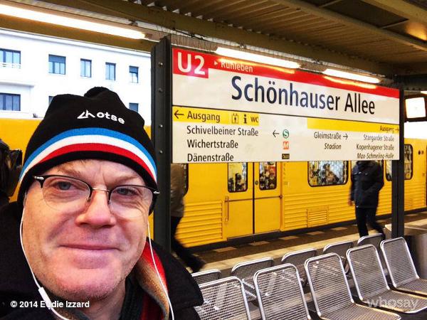 Eddie Izzard in Berlin