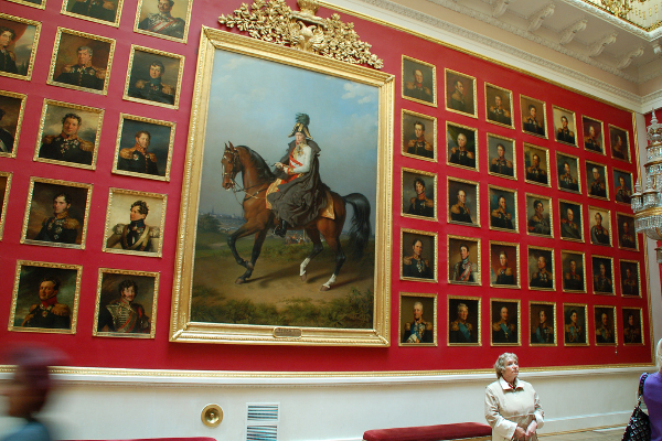 Paintings at the Hermitage Museum