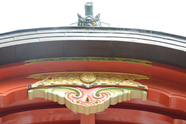 japanese pagoda details