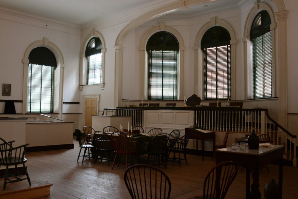 An inside look at the founding of the United States at Congress Hall in Philadelphia.